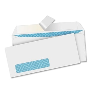 Sparco Removable Strip Window Envelopes (Box of 500)