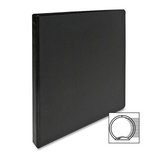 Sparco Black Vinyl 3-ring Binder
