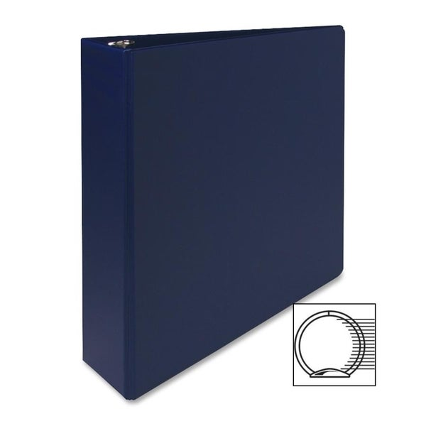Sparco Blue Vinyl Ring Binders