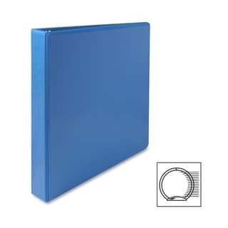 Sparco Presentation Round Ring View Binders