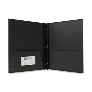 Sparco 2-Pocket Folders w/ Fasteners - 25/BX