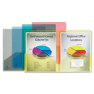 Sparco Transparent 2-pocket Portfolios (Box of 5)