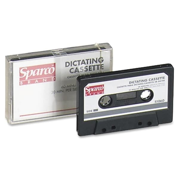 Sparco Dictating Cassettes - Each