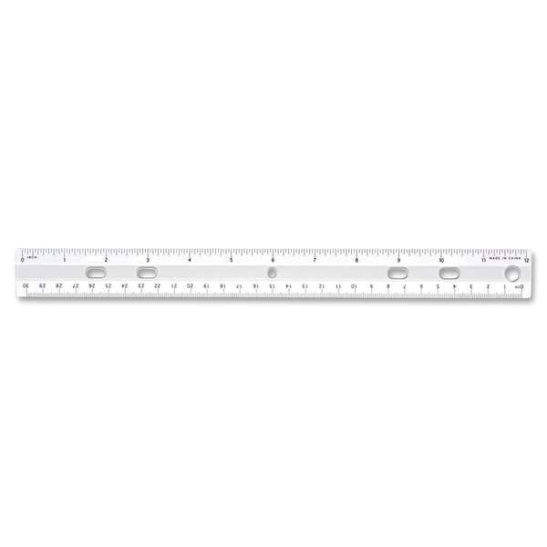 Sparco 12-inch Standard Metric Ruler