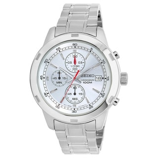Seiko Men's SKS417 Stainless Steel Chronograph Watch