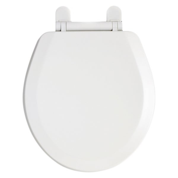 American Standard White Everclean Round Front Toilet Seat