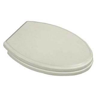 American Standard Linen Traditional Round-front Luxury Toilet Seat