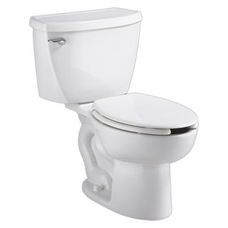 American Standard White Right Height Elongated Cadet Pressure Assistance 1.1Gpf Toilet Combo