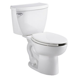 American Standard White Elongated Cadet 1.6Gpf Pressure Assistance Toilet Combo