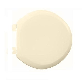 American Standard Bone Everclean Round-front Seat Cover Ez Lift Off Seat