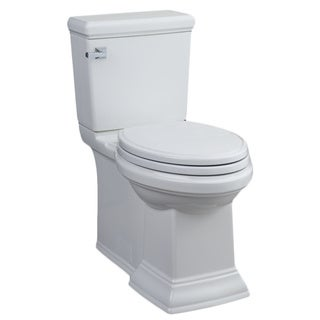 Hathaway White High Efficiency Comfortfit Ada Toilet