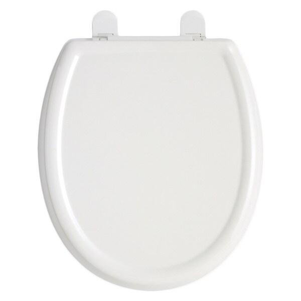 American Standard White Cadet 3 Elongated Slow Close Plastic Seat