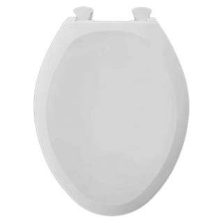 American Standard White Champion Seat Cover Round-front Seat