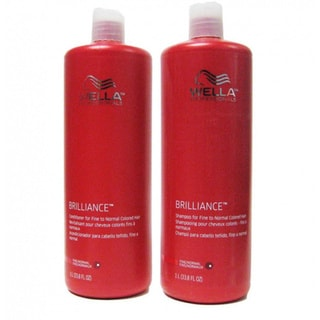 Wella Brilliance 33.8-ounce Shampoo/ Conditioner Set for Colored Hair