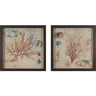 Coral Medley (Set of 2)