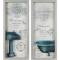 French Bath Panels (Set of 2)