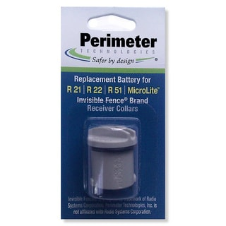 Perimeter Technologies Invisible Fence R21 and R51 Dog Collar Battery