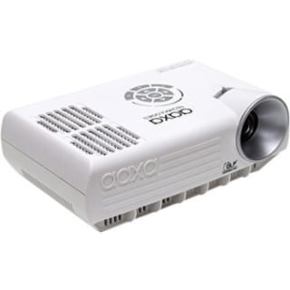 AAXA Mobile M4 LED Projector, 800 Lumens, Rechargeable 90 Min Battery