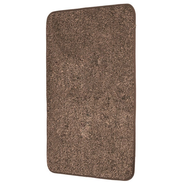 mud trap brown microfiber floor mat - 16699813 - overstock shopping