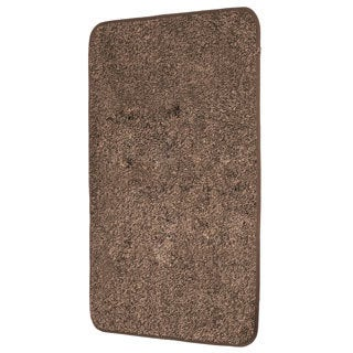 Mud Trap Brown Microfiber Floor Mat