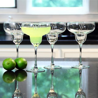 Personalized Margarita Glasses (Set of 4)