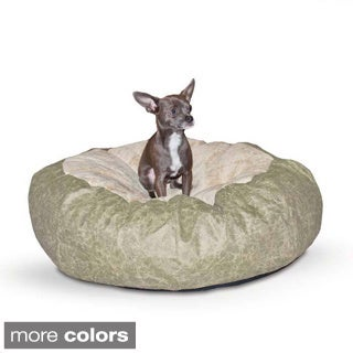 32 Inch Sherpa Puff Ball Pet Bed 12579731 Overstock