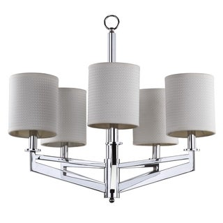 Safavieh Indoor 5-light Axis Chrome Chandelier