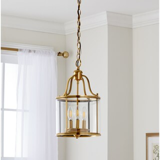 Safavieh Indoor 3-light Sutton Place Small Brass Pendant
