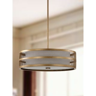 Safavieh Indoor 4-light Greta Veil Gold Pendant