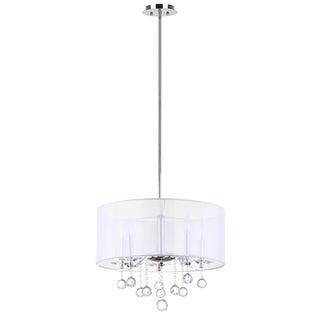 Safavieh Lighting 57-inches 5-light Etude Chrome Pendant