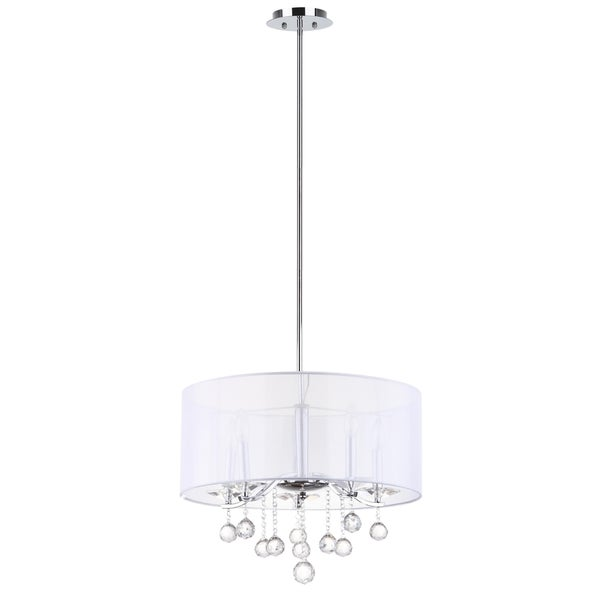 Safavieh Indoor 5-light Etude Chrome Pendant