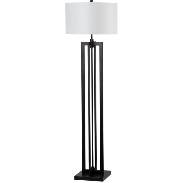 Safavieh Indoor 1-light Tanya Tower Black Floor Lamp