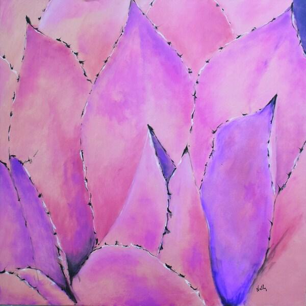 Nathalie Viens Nymphaea II Canvas Art Print