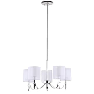 Safavieh Indoor 5-light Mika Chrome Chandelier