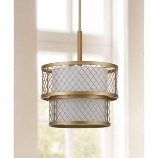 Safavieh Indoor 6-light Evie Mesh Gold Pendant
