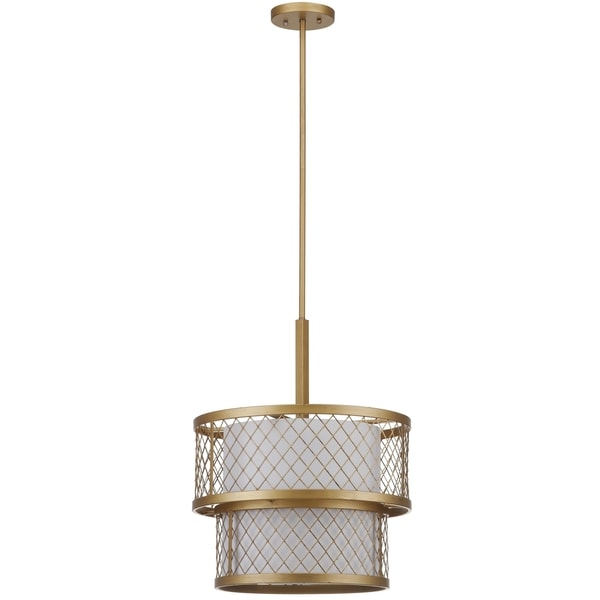 Safavieh Indoor 6-light Evie Mesh Gold Pendant