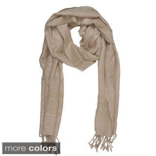 In-Sattva Colors Elegant Solid Color Scarf (India)
