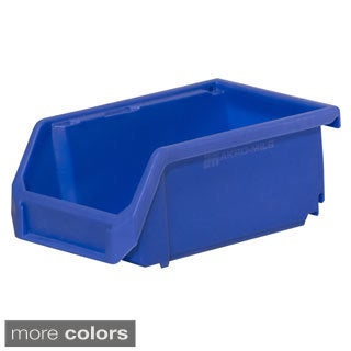 Akro-Mils HSB220 Titan Stacking Hanging and Nesting Plastic Industrial Grade Small Parts Storage Bins (Case of 24)