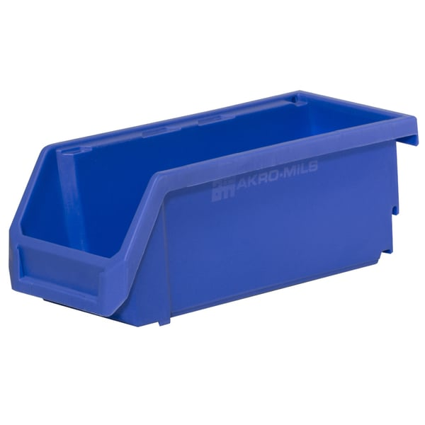 Akro-Mils HSB224 Titan Stacking, Hanging and Nesting Plastic Industrial Grade Small Parts Storage Bin (Case of 16)