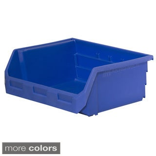 Akro-Mils HSB250 Titan Stacking, Hanging and Nesting Plastic Industrial Grade Small Parts Storage Bin (Case of 8)