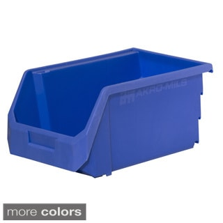 Akro-Mils HSB240 Titan Stacking, Hanging and Nesting Plastic Industrial Grade Small Parts Storage Bin (Case of 16)