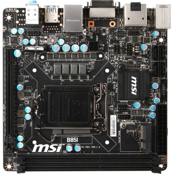 MSI B85I Desktop Motherboard - Intel B85 Express Chipset - Socket H3