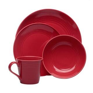 Gordon Ramsay Maze Chilli Red 16-piece Dinnerware Set