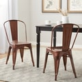 Tabouret Brushed Copper Bistro Side Chairs (Set of 2)
