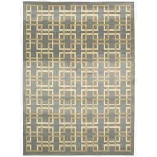 Nourison Nova Grey Rug (7'10 x 10'6)