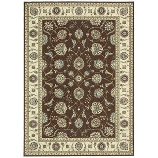 Nourison Empire Brown Rug (5' x 7')