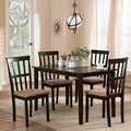 Baxton Studio Jet Moon 5-piece Dining Set