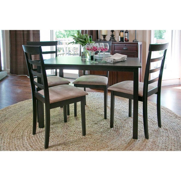 Baxton Studio Jet Cheer Modern Wood Dining Chair (Set of 2) (As Is Item)