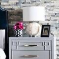 Safavieh Lighting 23-inch Pauley White Table Lamp