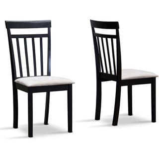 Baxton Studio Jet Warm Dining Chair (Set of 2)